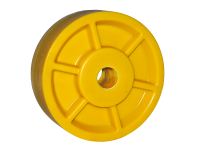 Polyamide semi-finished pulleys