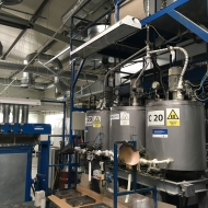 POLYplasty production hall equipment