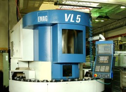 Vertical turning centre - Haardinge emag 3, Strojtex
