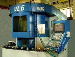 Vertikální soustružnické centrum - Haardinge emag 5